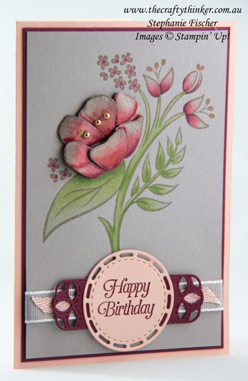 #thecraftythinker #stampinup #allthatyouare #occasionscatalogue2019 #cardmaking , All That You Are, Stitched Labels Framelits, Stampin' Blends, Stampin' Up Australia Demonstrator, Stephanie Fischer, Sydney NSW