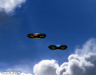 Disc-Shaped UFOs Reported Over Lafayette County, Louisiana 5-27-17