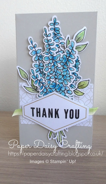 Lots of Happy Card Kit in blues, by Stampin Up