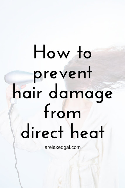 Direct heat can hinder a healthy hair journey. See what can be done to get back on track. | arelaxedgal.com