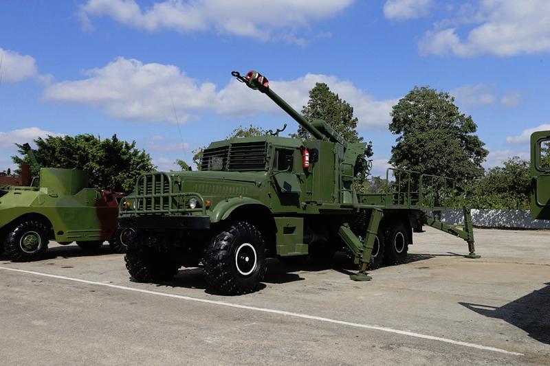 Кубинська екзотика: САУ на шасі КрАЗ-255Б