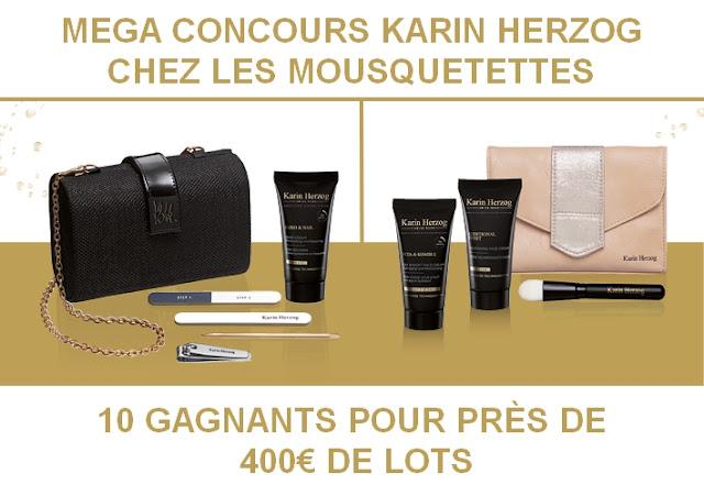 Concours Karin Herzog chez Les Mousquetettes, un blog beauté pas comme les autres...