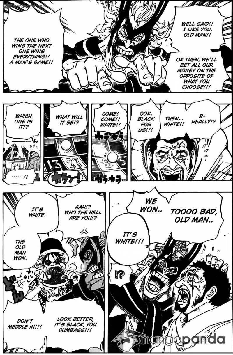 One Piece Ch 701: Adventure in the country of love
