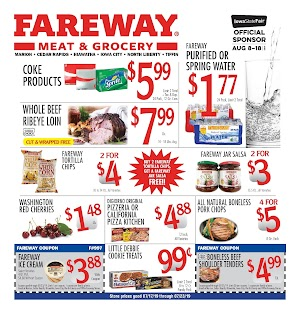 Fareway Ad and Deals July 23 - 29, 2019 or 7/24/19