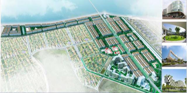 Quy mô mặt bằng khu đô thị FLC Garden City, Hà Khánh