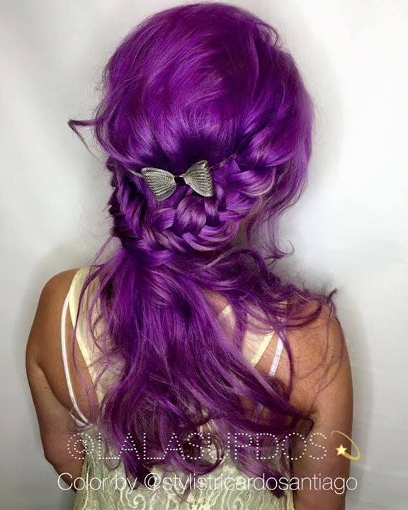 Excellent Gorgeous Purple Hairstyles Short Hairstyles Gunalazisus