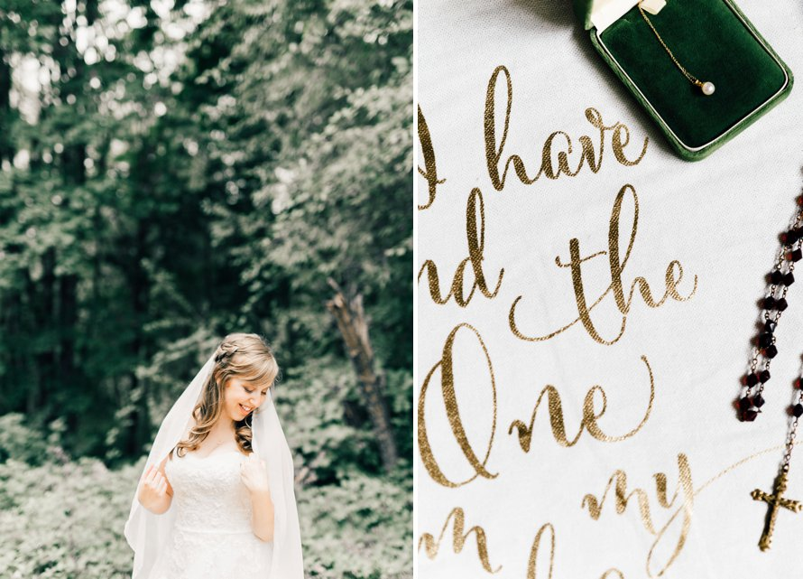 Romantic Summer Wedding at Chambers Bay by Seattle Photographer Something Minted