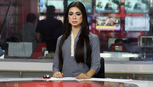 Islamabad, Pakistan, Transgender News Anchor, Marvia Malik, Lahore news channel, Kohenoor News, news anchor Marvia Malik