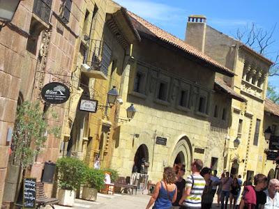 Casa del Marques de Santillana in The Poble Espanyol