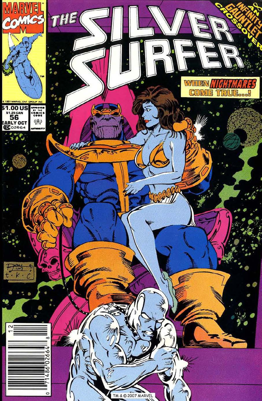 Read online Silver Surfer (1987) comic -  Issue #56 - 1