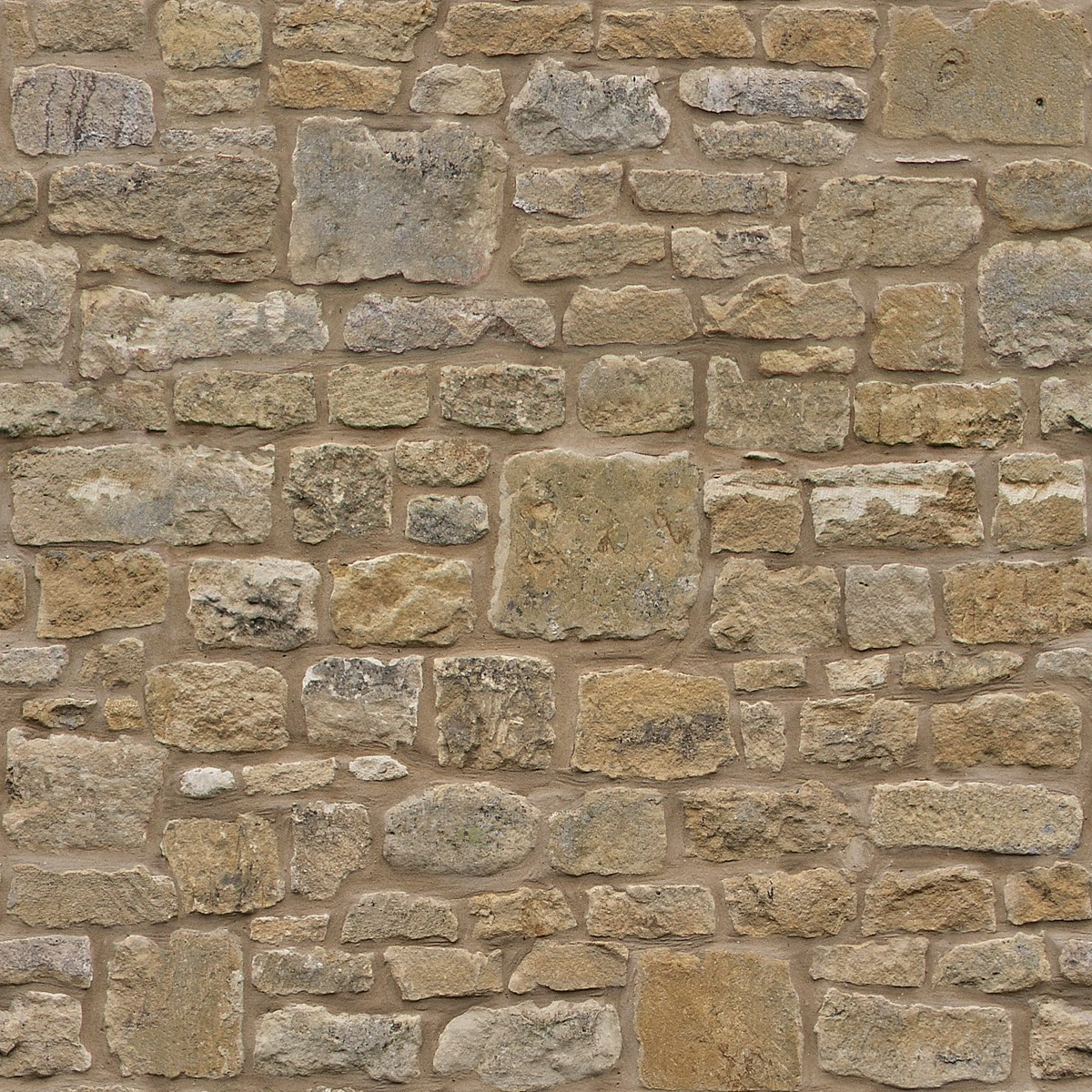 Tileable Stone Wall Texture + (Maps) | Texturise Free ...