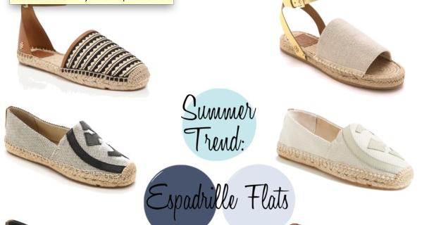 1d79328b15683a Summer Trends  Tory Burch Espadrille Flats