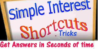 SIMPLE INTEREST ALL FORMULA AND SHORTCUT TRICKS NOTE
