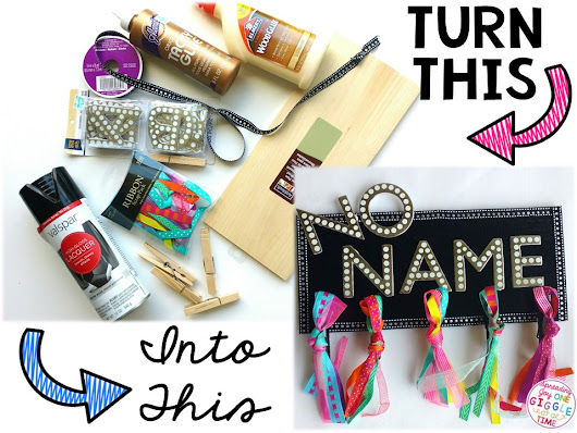 "Making A ""No Name Board"" For Your Classroom and Your Sanity"