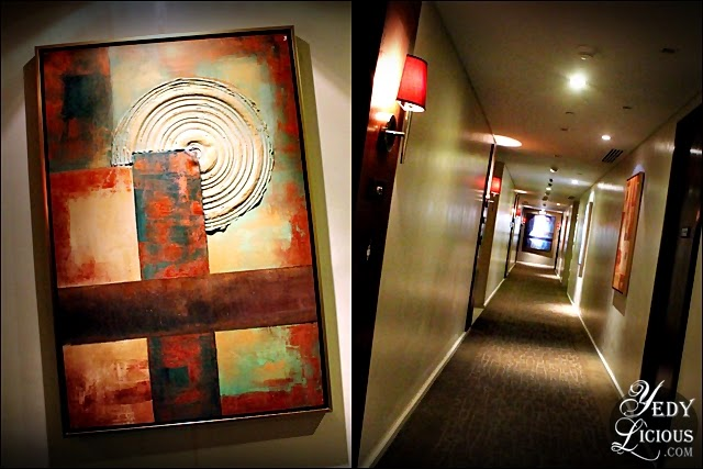 Hallway at Oakwood Manila