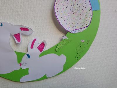 DIY Couronne de Pâques