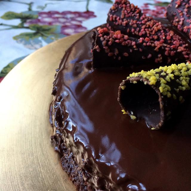 receta tarta de chocolate