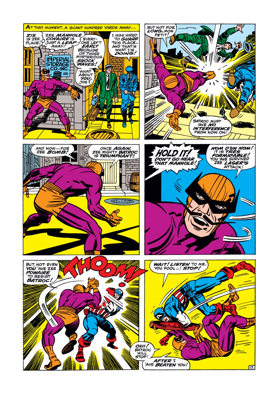 Read online Captain America (1968) comic -  Issue #105 - 18