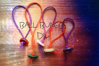 DIY Ball bungee zrób to sam