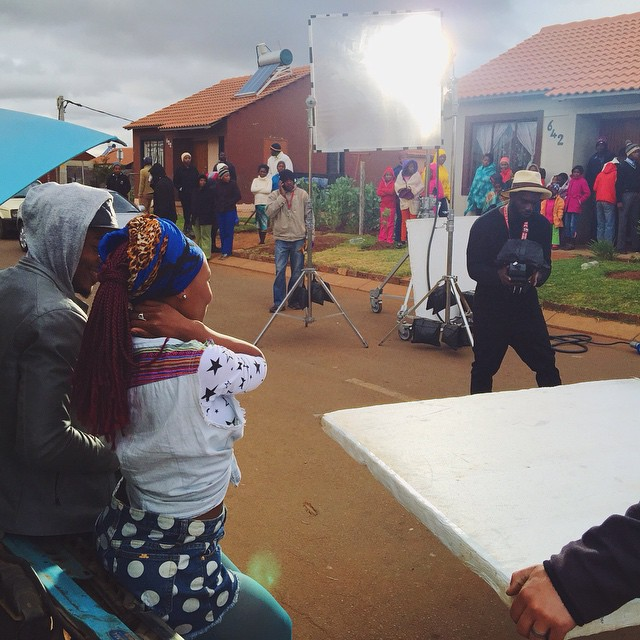 Alikiba Video shoot Going on in South Africa