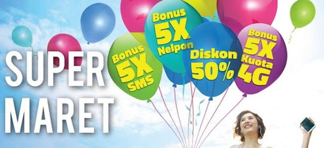 Super Maret : Promo Paket Internet XL, Kuota 22.5 GB Cuma Rp 100 Ribu