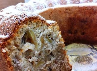 Receita do melhor e mais fácil bolo de maçã
