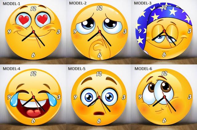 Emoji saat modelleri