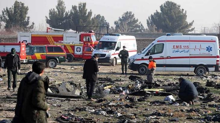 Confirman 176 muertos tras estrellarse avión ucraniano en Irán