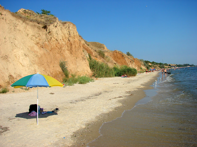 Пляж в Очакове