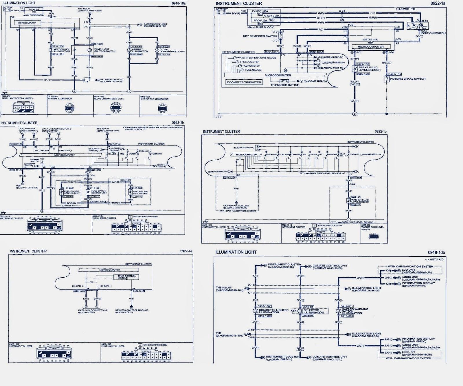 2008 Mazda 3 Wiring Diagram | Auto Wiring Diagrams