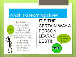a description of learning style which is practically the way an individual manages to learn effectiv The following are descriptions of vak learning styles which can be found in every learner to some extent these descriptions will help you evaluate a persons learning style on the basis of observation this vak based learning styles instrument is a tool which facilitates identifying our preferences of.