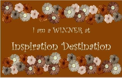 I WON at Inspiration Destination!