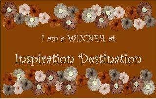 I WON at Inspiration Destination!