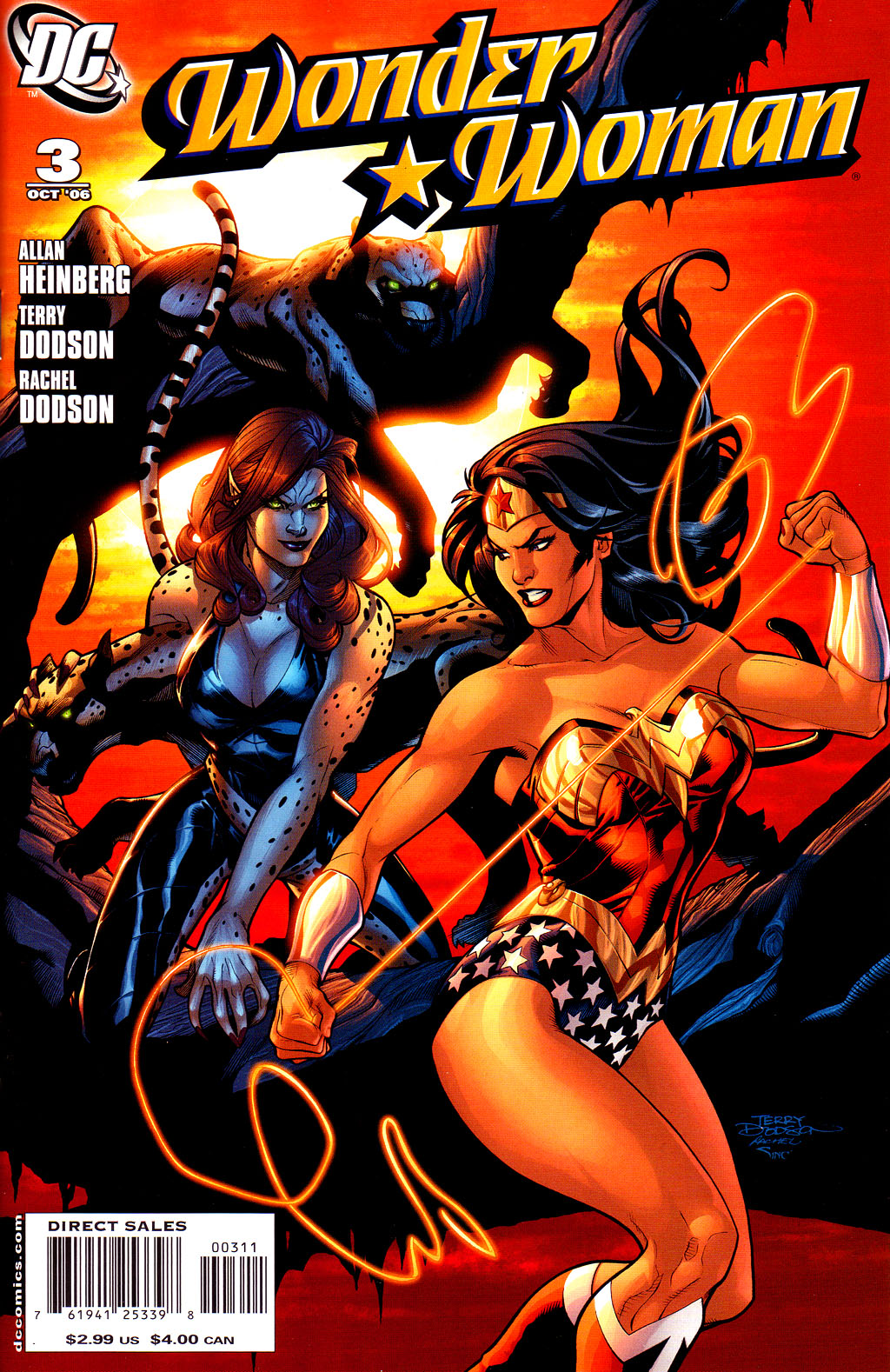 Read online Wonder Woman (2006) comic -  Issue #3 - 1