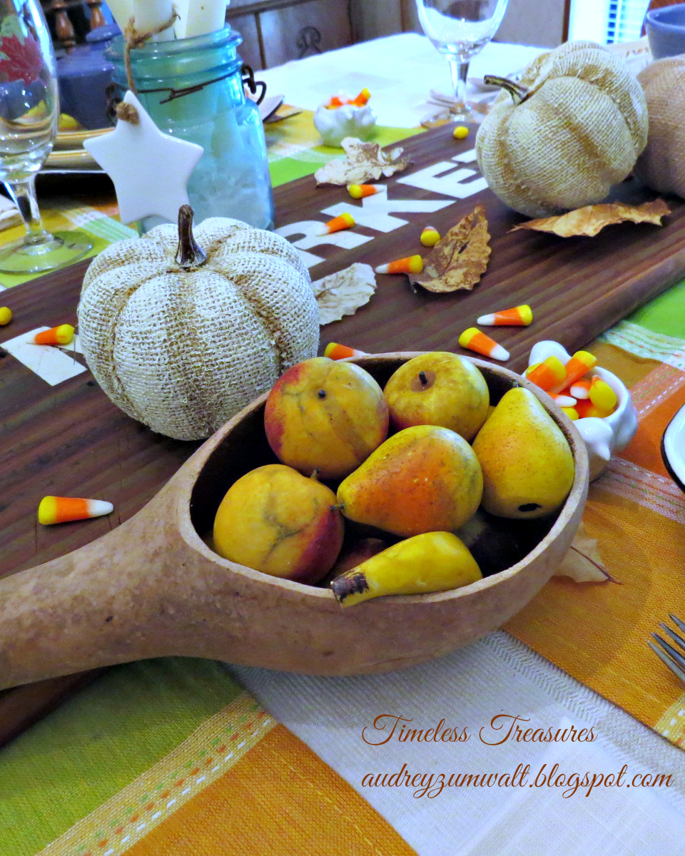 Timeless Treasures: Frugal Fall Decorating
