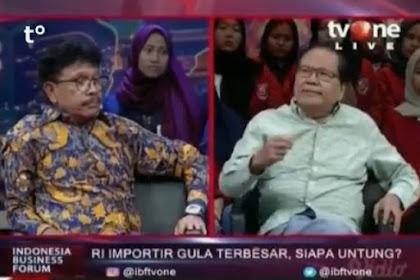 Begini Debat Hebat! Rizal Ramli Hajar Politisi Nasdem Pakai Data dan Fakta