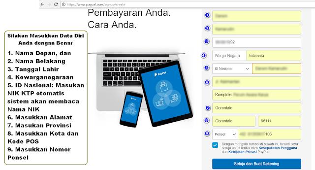 Cara Daftar Paypal Indonesia Tanpa Kartu Kredit Verified Account