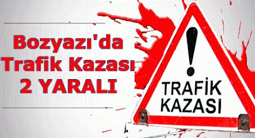 Bozyazı'da Trafik Kazası