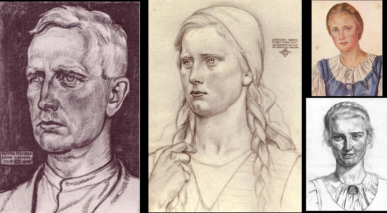Descubre lo imposible la raza blanca or genes - Tipos de nordicos ...