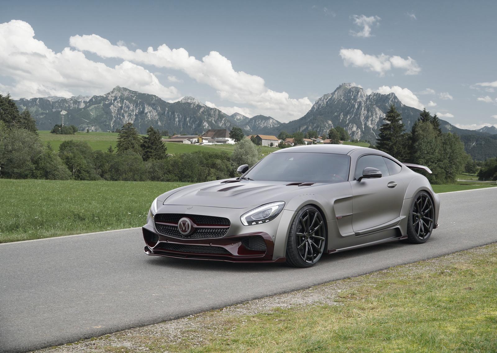 Mansory độ Mercedes-AMG GT S đã gây nhiều tranh cãi vì chiều rộng của nó đã tăng lên đáng kể