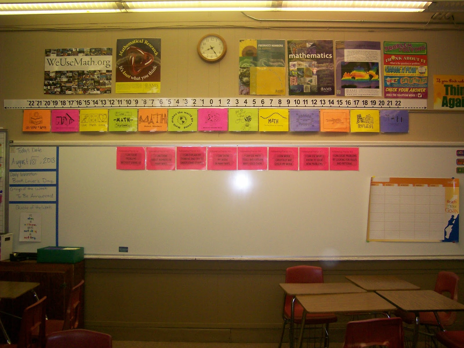 Classroom Ideas Maths : Math love what s on my classroom walls