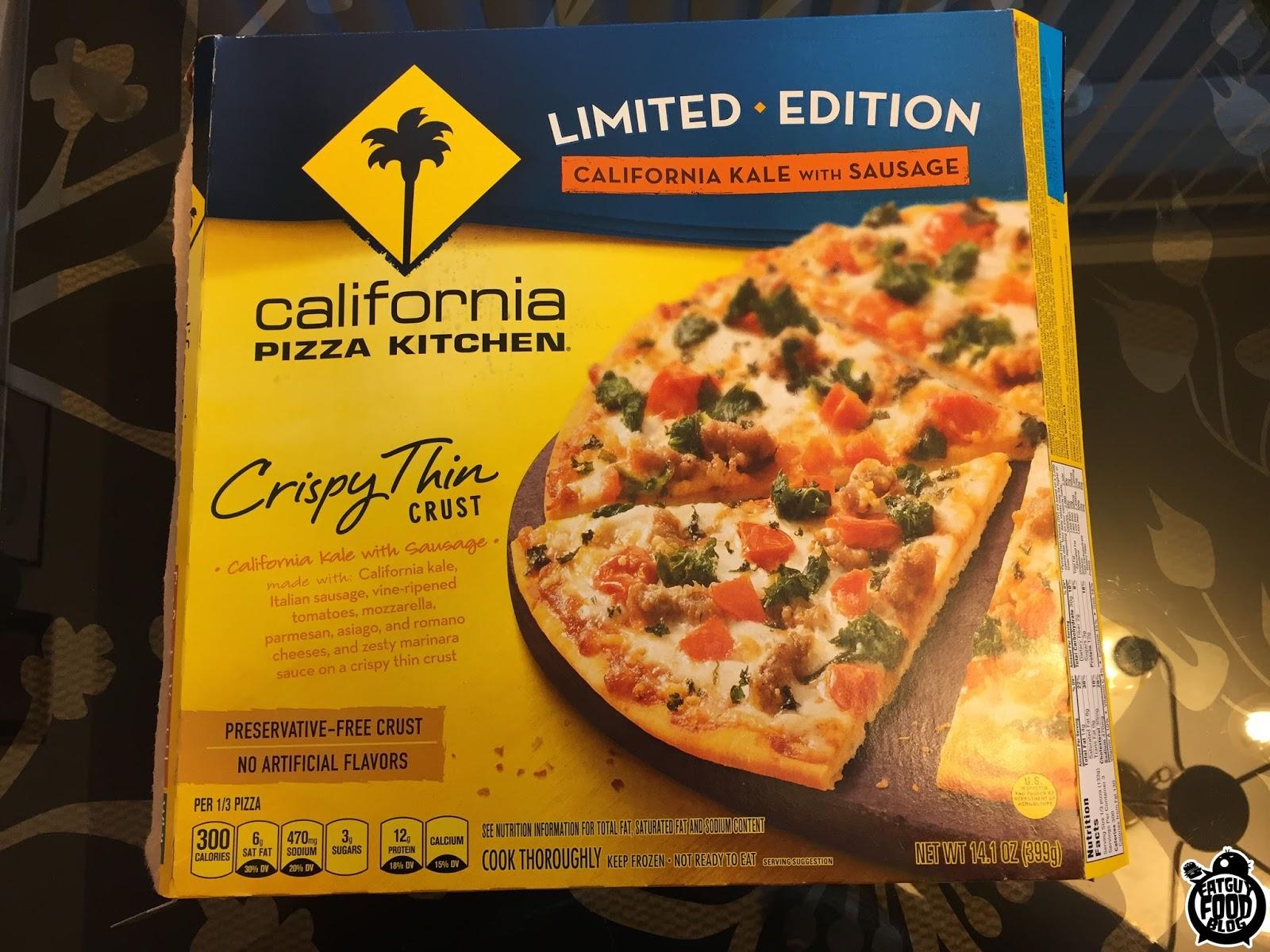 California Pizza Kitchen Smoothies