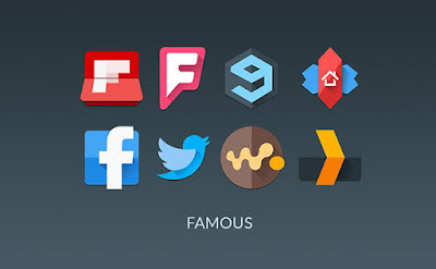 icon pack category famous