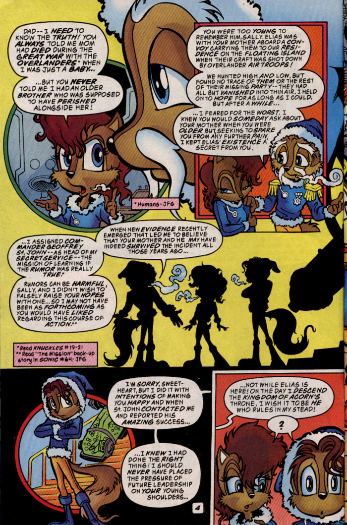 Read online Sonic The Hedgehog comic -  Issue #69 - 4
