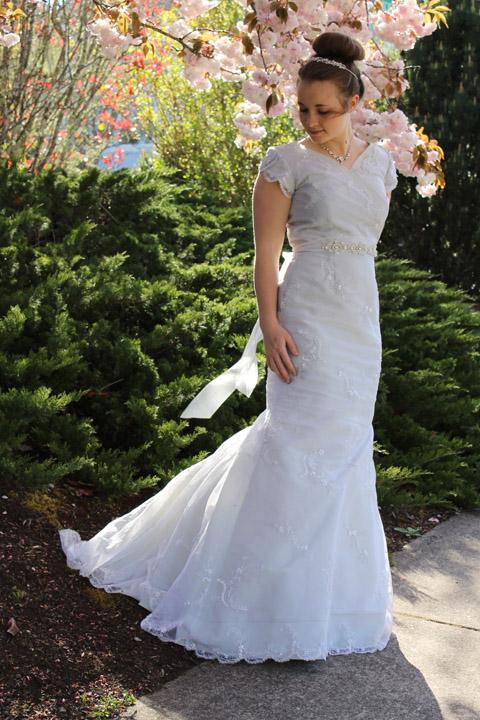 Sew Chic Pattern Company Make A Wedding Dress For 100