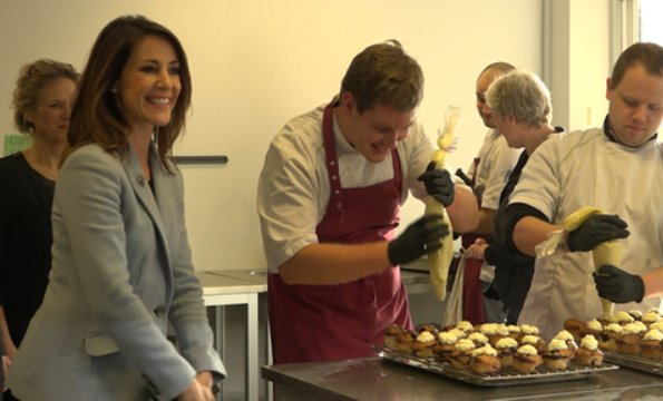 Princess Marie visited SOVI workshop in Copenhagen