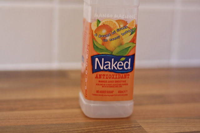EMPTY NAKED SMOOTHIE BOTTLE