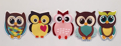 Five Little Owls, owl storytime