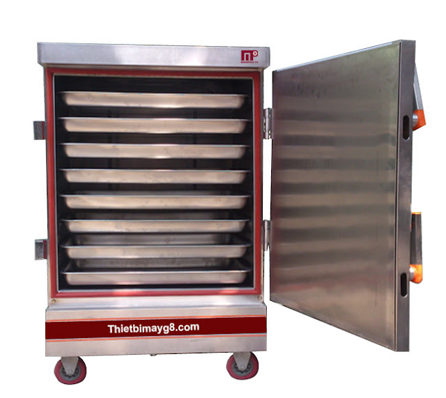 Tủ nấu cơm 8 khay điện  nấu 25-35kg