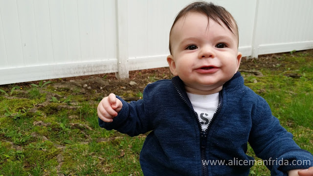 9 month old baby, www.alicemanfrida.com